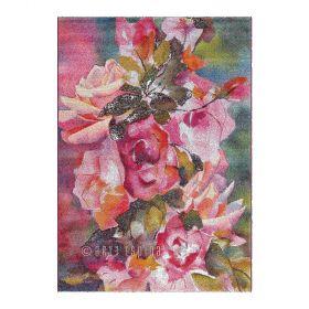 tapis jardin moderne arte espina rose