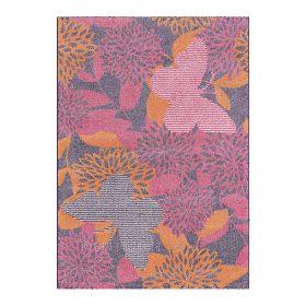 tapis enfant kids arte espina fleur et papillon