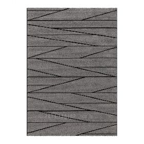 tapis optical art gris et noir arte espina