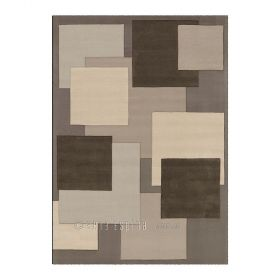 tapis marron reflective arte espina