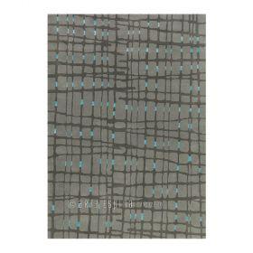 tapis moderne gris grid arte espina