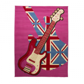 tapis flair rugs girls rock multicolore