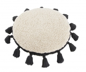 coussin circle black - lorena canals