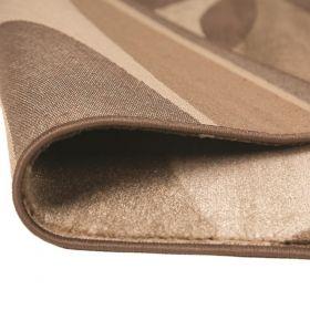 tapis moderne marron contour flair rugs
