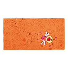 tapis enfant happy zoo summ summ orange sigikid