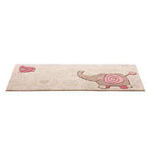 tapis enfant happy zoo elephant beige sigikid