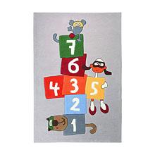 tapis enfant multicolore bandidoleros jump sigikid