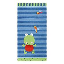 tapis enfant susi sumpfhose bleu et vert sigikid