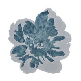 tapis moderne spring bleu angelo tufté main