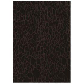 tapis moderne stream noir angelo tufté main