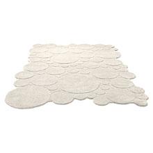 tapis circle moderne blanc esprit home