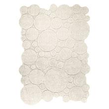 tapis circle blanc moderne esprit home