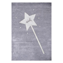 tapis gris enfant wish art for kids