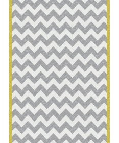 tapis chevron jaune - art for kids