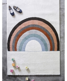 tapis enfant rainbow - art for kids