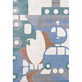 tapis puzzle travel - art for kids
