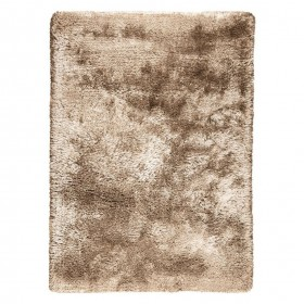 Tapis shaggy taupe / tapis shaggy marron