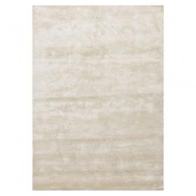 tapis en fibres de bambou blanc bamboo angelo