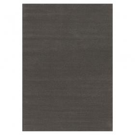 tapis flax noir tufté main angelo