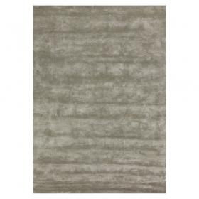 tapis en viscose annapurna gris angelo tufté main