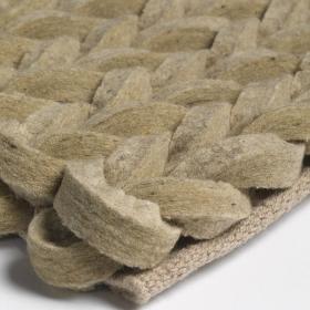tapis en laine highland beige angelo tissé main