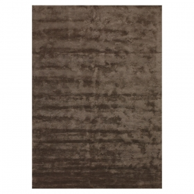 tapis bamboo marron angelo en fibres de bambou