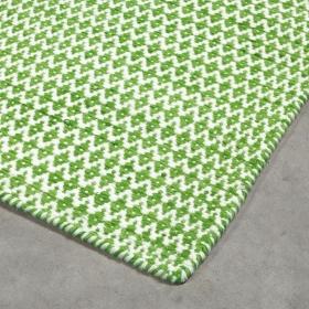 tapis moderne mic-mac vert angelo