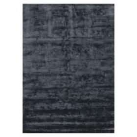 tapis en fibres de bambou noir bamboo angelo