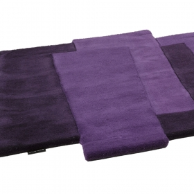 tapis de couloir pebbles mauve angelo