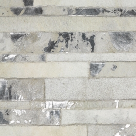 tapis star cuir blanc - angelo
