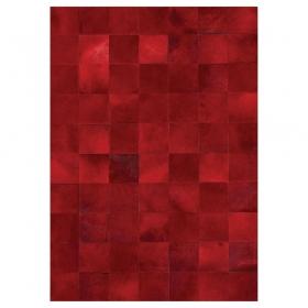 tapis en cuir rouge angelo starless