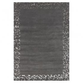 tapis en laine angelo sydney gris foncé