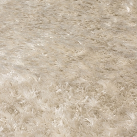 tapis angelo vesuvio beige à poils longs