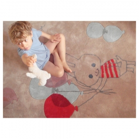 tapis enfant balloon de shinzi katoh art for kids