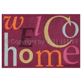 tapis antidérapant home couleur prune arte espina