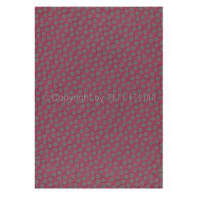 tapis flashy geometry arte espina rose en coton