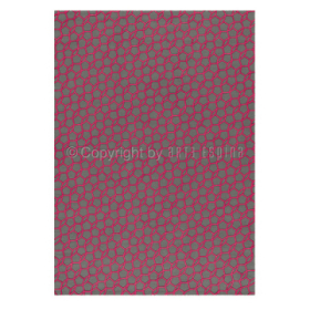 tapis en coton rose flashy geometry arte espina