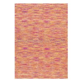 tapis stracciatella orange arte espina tissé main