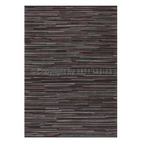 tapis en cuir pioneer rouge et gris arte espina