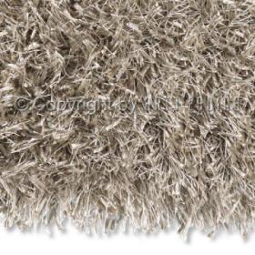 tapis shaggy beat beige arte espina tufté main