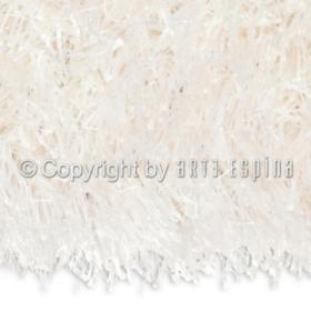 tapis shaggy beat blanc arte espina