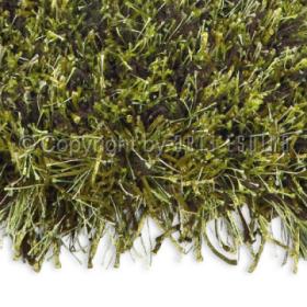 tapis shaggy beat vert arte espina tufté main