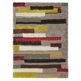 tapis à poil long dance multicolore arte espina