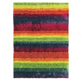 tapis funky multicolore shaggy arte espina