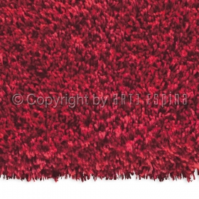 tapis shaggy soul rouge arte espina