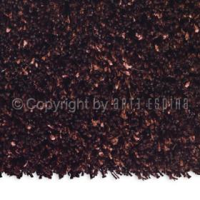 tapis marron shaggy arte espina soul