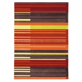 tapis colour codes orange arte espina