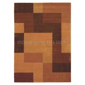 tapis arte espina logarithm marron
