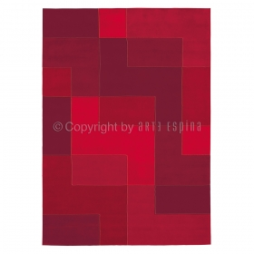tapis arte espina logarithm rouge