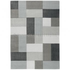 tapis gris arte espina moderne reflective